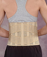 Therapeutic  lumbar support